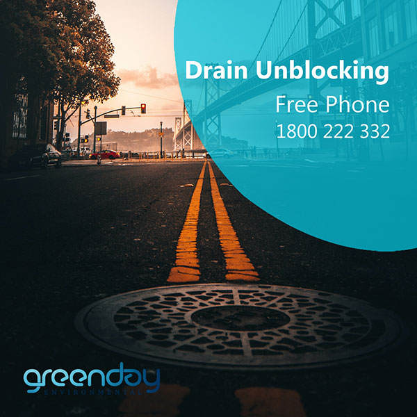 Forget about your blocked drains​